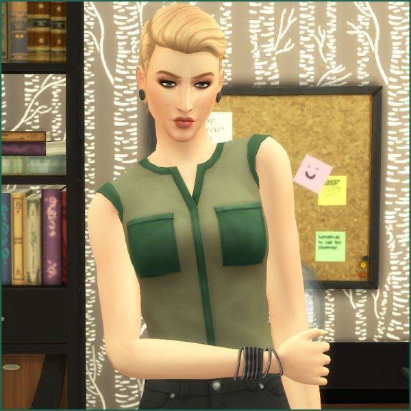 Mod The Sims: Joely Sterling by Hellfrozeove