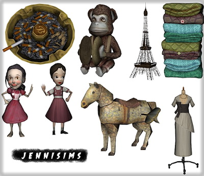Jenni Sims: Decoratives and Eiffel Tower