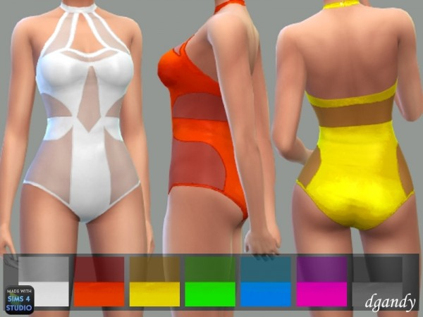 The Sims Resource: Swimsuit D by dgandy