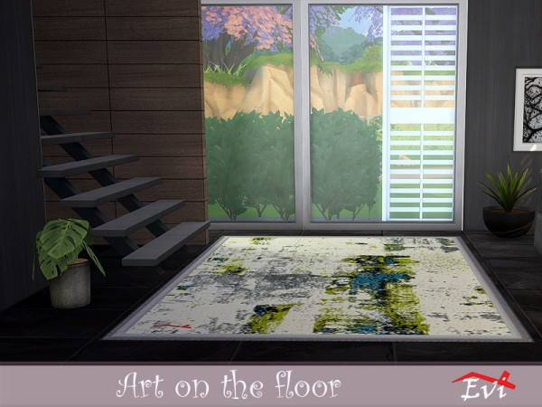 The Sims Resource: Art on the floor by evi