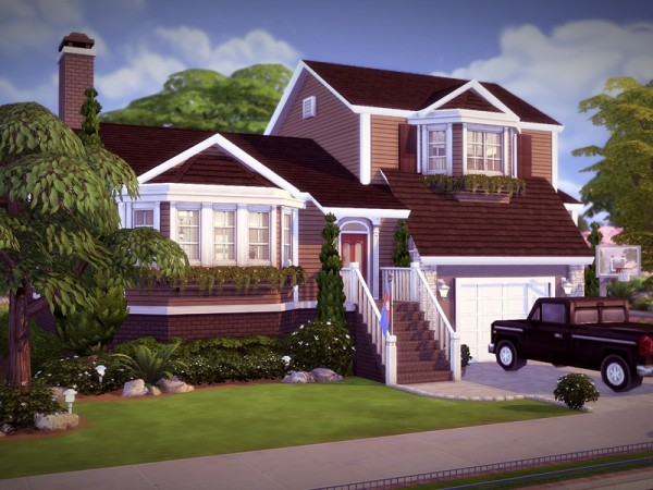 The Sims Resource Elmhill No Cc By Melcastro91 Sims