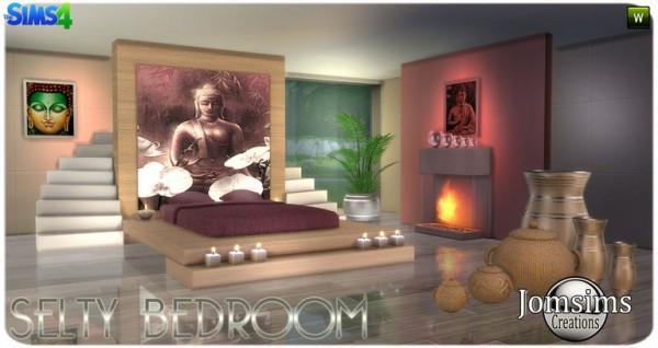 Jom Sims Creations: Selty bedroom