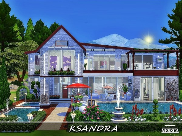 The Sims Resource: Ksandra house by Nessca