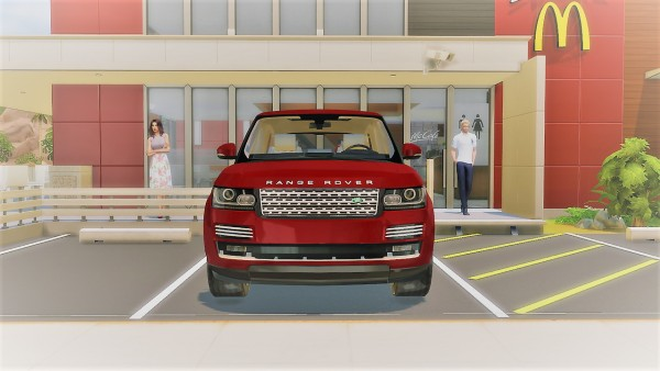 Lory Sims: Land Rover Range Rover Supercharged