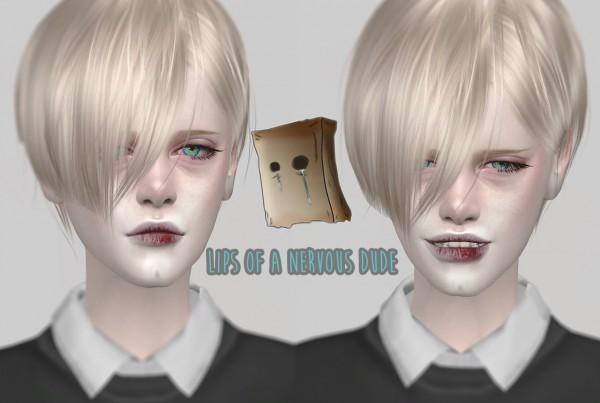 Magic Bot: Lips of a nervous dude