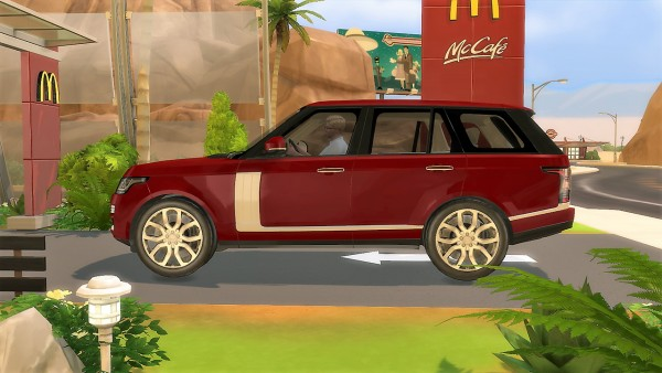 lory sims land rover range rover supercharged sims 4. Black Bedroom Furniture Sets. Home Design Ideas