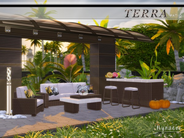 The Sims Resource Terra Patio By Nynaevedesign Sims 4