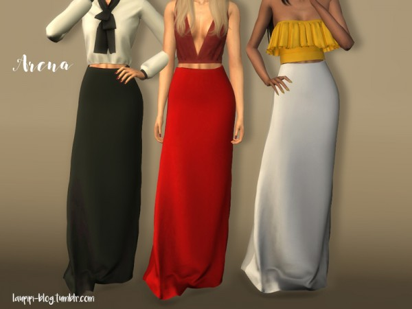 The Sims Resource: Arena skirt by laupipi