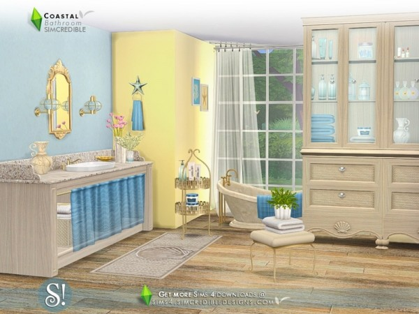 The Sims Resource: Coastal Bathroom by SIMcredible!