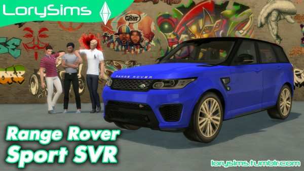 lory sims land rover range rover sport svr the sims updates. Black Bedroom Furniture Sets. Home Design Ideas