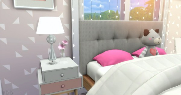 Mony Sims: Simple bedroom