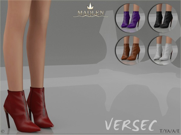 The Sims Resource: Madlen Versec Boots by MJ95
