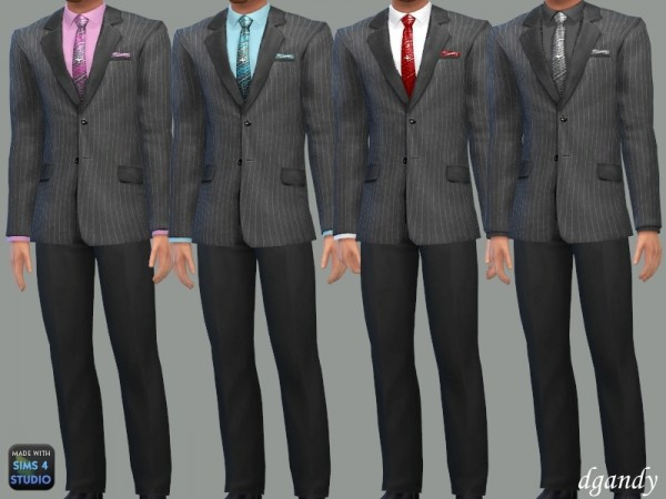 The Sims Resource: Formal Suit A by dgandy
