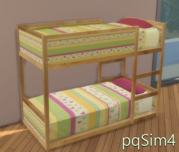 Pqsims4 Todler Ikea Inspired Bed Sims 4 Downloads