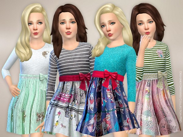 The Sims Resource: Designer Dresses Collection P90 by lillka