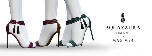 MA$ims 3: Shanty Tassel Sandals