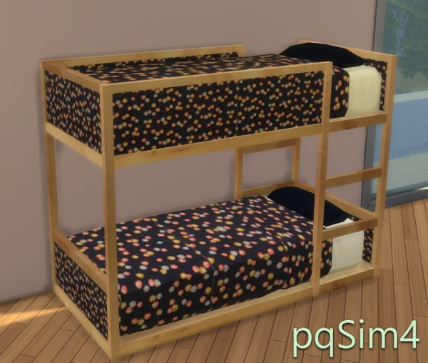 PQSims4: Todler Ikea Inspired bed