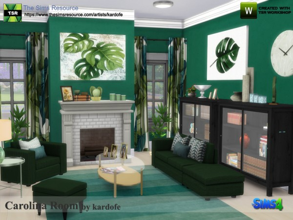 The Sims Resource Carolina Room By Kardofe Sims 4 Downloads