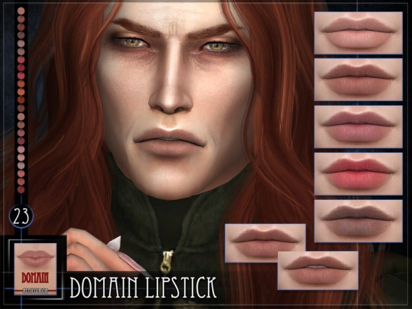 The Sims Resource: Domain Lipstick by RemusSirion