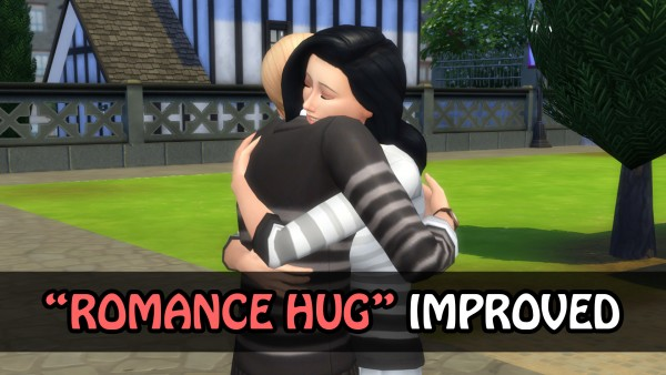 Mod The Sims: Embrace Interaction Improved by simsilver0