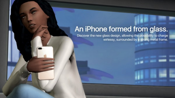 Mod The Sims: Phone DReplacement   Apple iPhone 8 / 8 Plus by littledica
