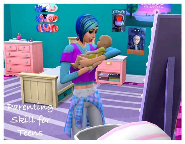 Mod The Sims: Parenting Skill for Teens by zafisims
