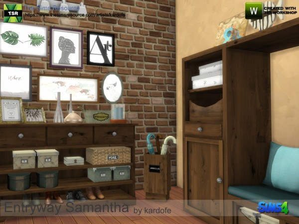 The Sims Resource Entryway Samantha By Kardofe Sims 4