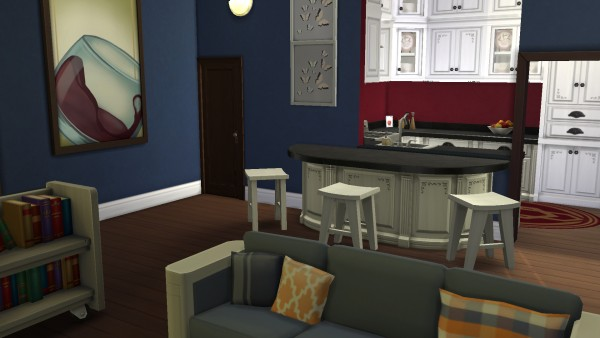 Mod The Sims: 18 Culpepper Reno house by PolarBearSims