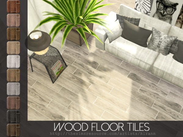 The Sims Resource: Wood Floor Tiles by Rirann