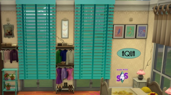 Mod The Sims: Morses Window Shades by wendy35pearly