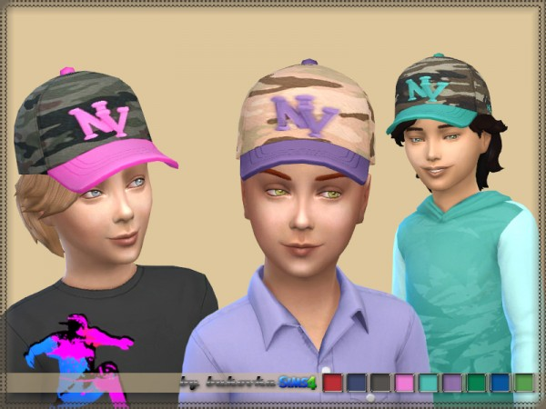 The Sims Resource: Cap Male by bukovka