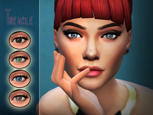 The Sims Resource: Treacle Eyes by Kitty.Meow