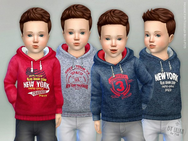 The Sims Resource Hoodie For Toddler Boys P05 By Lillka