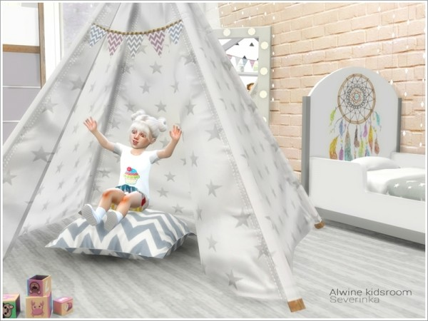 The Sims Resource Alwine Kidsroom By Severinka Sims 4