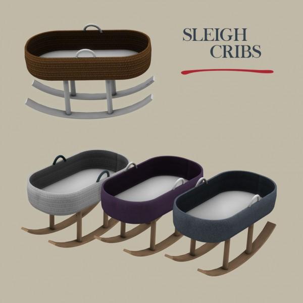 Leo 4 Sims: Sleigh Crib