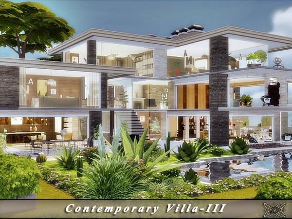The Sims Resource: Contemporary Villa III by Danuta720