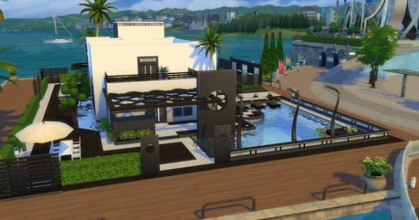 PQSims4: Phenix Modern Villa