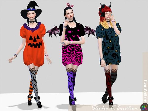 Studio K Creation: DarkSouls   puff dress