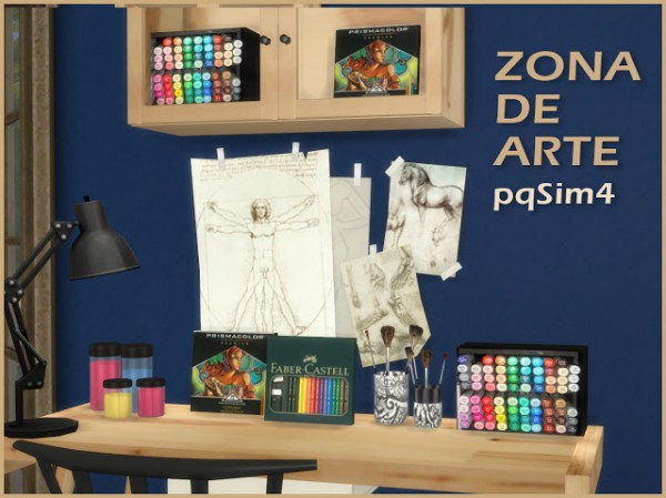 PQSims4: Art Zone