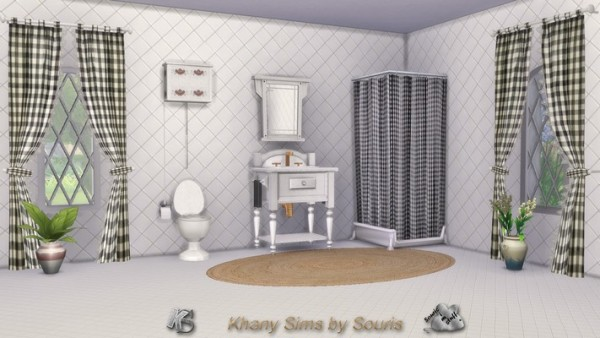 Khany Sims: Saison bathroom by Souris