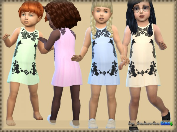 The Sims Resource: Dress Lace Element by bukovka