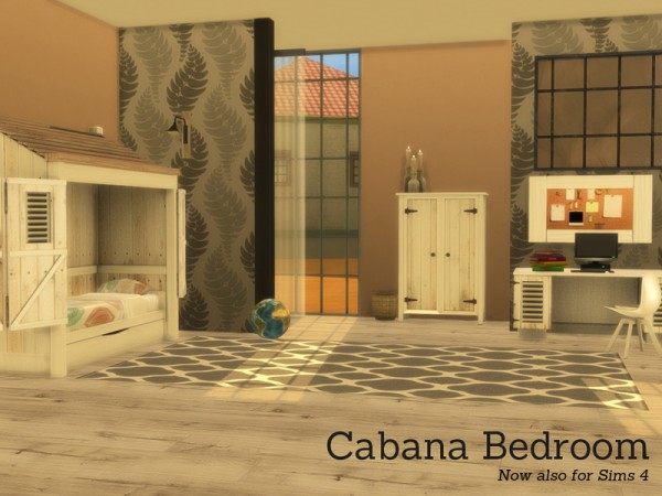 The Sims Resource: Cabana Bedroom by Angela