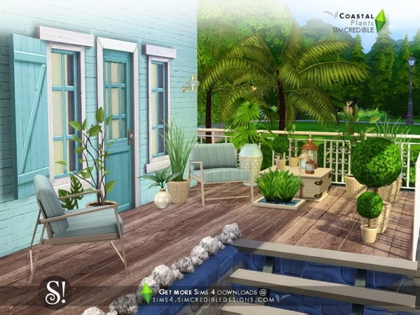 The Sims Resource: Coastal Plants by SIMcredible!