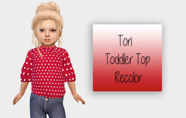 Simiracle: Tori top recolored