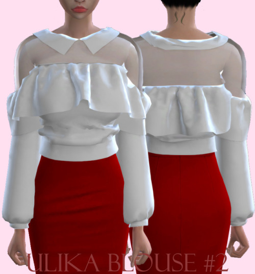 Ulika Blouse 2 Sims 4 Downloads