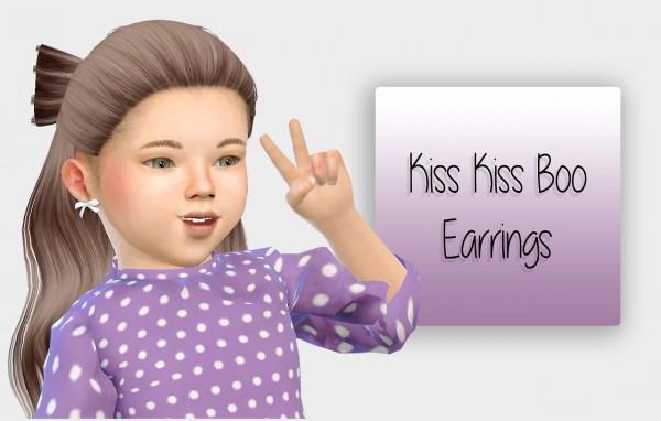 Simiracle: Kiss Kiss Boo Earrings