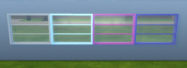 Mod The Sims: Tri Pane Window Conversion by megsmaw