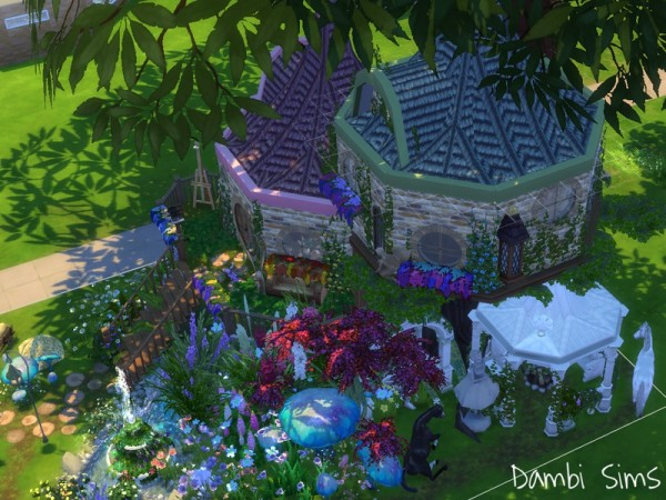 The Sims Resource: Fairy Tree House by dambisims
