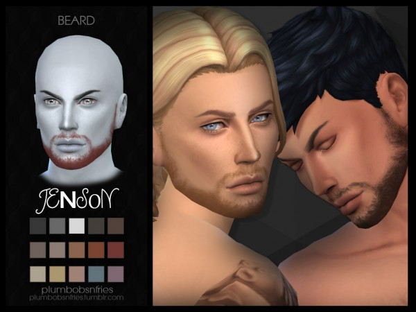 Plumbobsnfries: Jenson beard