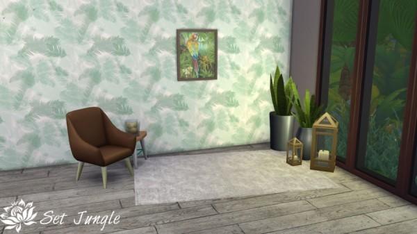 Sims Artists: Set Jungle